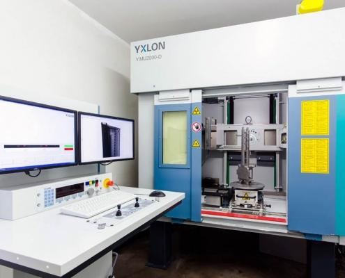 Metallgießerein Chemnitz mit neuer Röntgenanlage für zerstörungsfreie Materialprüfung