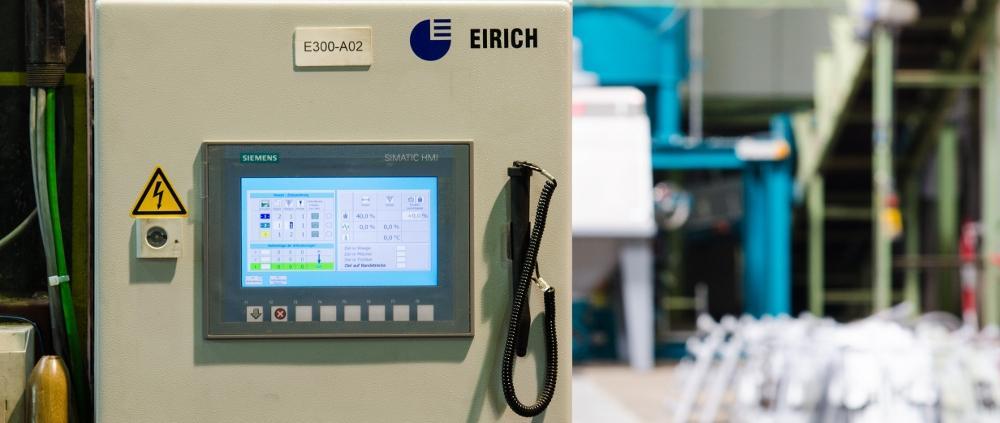 MGC Sandaufbereitung - Eirich Bedienpanel