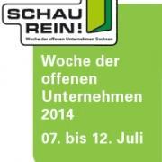 Die Woche der offenen Unternehmen Sachsen 2014