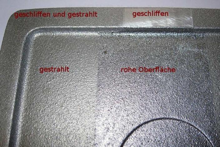 Metallgiesserei Chemnitz Gußoberflaechen