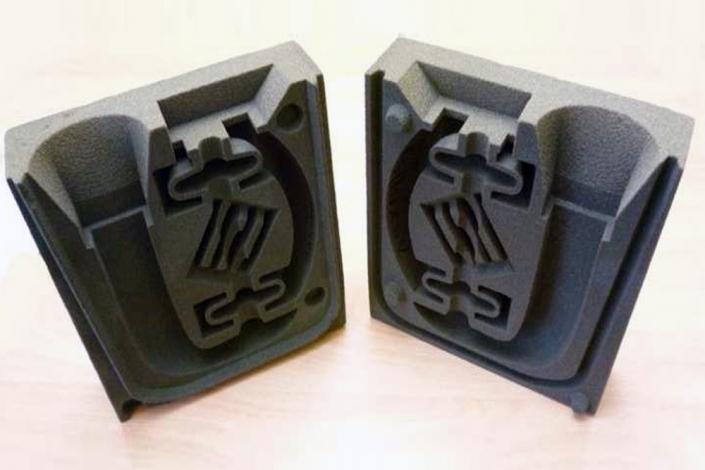Metallgießerei Chemnitz 3D-gedruckte Form