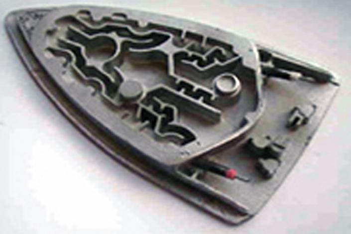 Metallgießerei Chemnitz Prototyp Bügeleisensohle