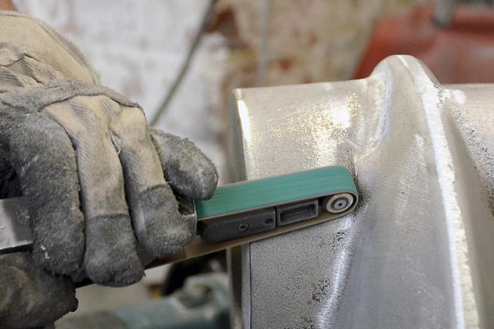 Metallgießerei Chemnitz Feinputz von Aluminium Gussteilen