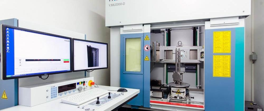 Röntgenanlage, Materialprüfung MGC