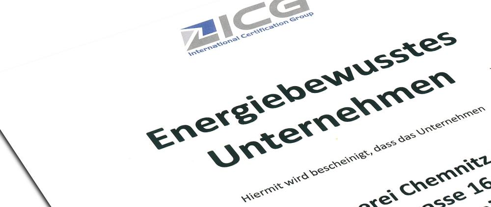 Certification Group – ICG Zertifikat